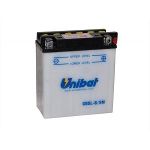 Akumulator standard Unibat CB5L-B, 12V 5Ah