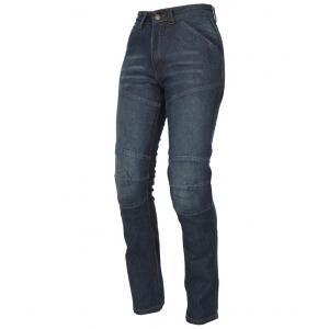 Damskie jeansy motocyklowe Roleff Jeans niebieskie