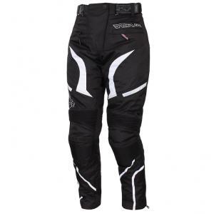 Damskie spodnie motocyklowe RSA Devil białe