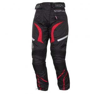 Damskie spodnie motocyklowe RSA Devil czerwone