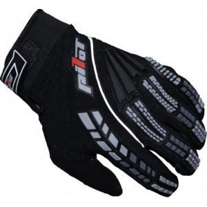 Motocrossowe rękawice Pilot czarne