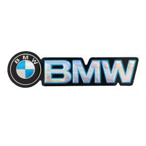 Naklejka 3D BMW