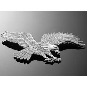 Samoprzylepny emblemat Highway Hawk, chrom wyprzedaż