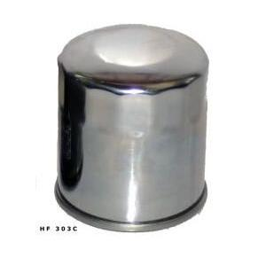 Oil filter HIFLOFILTRO HF303C Chrome