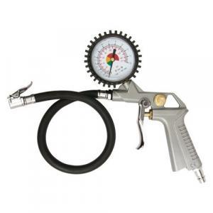 Pistolet do pompowania opon z manometrem 2,8-10 bar