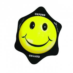 Uniwersalne slidery kolan Oxford Smiler żółte
