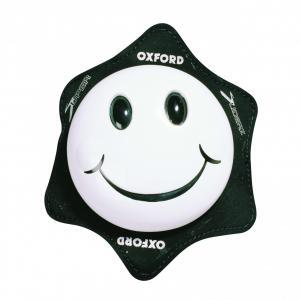 Uniwersalne slidery kolan Oxford Smiler białe