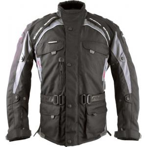 Kurtka motocyklowa Roleff Liverpool czarno/szara