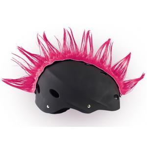 Pióropusz na kask Wiggystyle, różowy