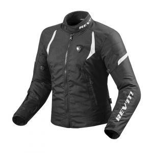 Damska kurtka motocyklowa Revit Jupiter 2 czarno-biała wyprzedaż