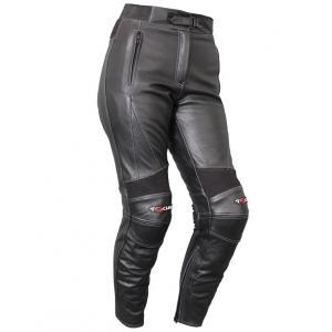 Damskie skórzane spodnie motocyklowe Tschul M-35 Glatt wyprzedaż