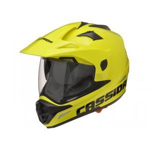 Enduro kask Cassida Tour fluo żółty