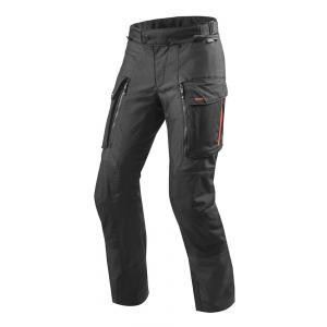 Spodnie motocyklowe Revit Sand 3 czarne skrócone wyprzedaż