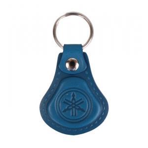 Skórzany brelok do kluczy Yamaha niebieski