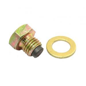 Magnetyczna śruba wypustowa z uszczelką M12 x 1.50