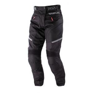 Damskie spodnie motocyklowe RSA Devil czarne