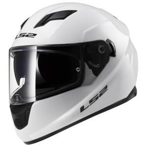 Integralny kask motocyklowy LS2 FF320 Stream biały