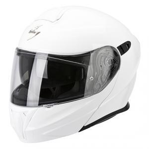 Szczękowy kask motocyklowy Scorpion EXO-920 biały