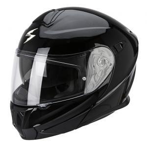 Szczękowy kask motocyklowy Scorpion EXO-920 czarny połysk
