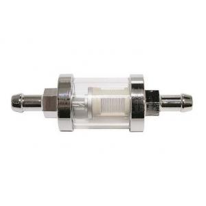 Filtr paliwowy chromowy 8 mm