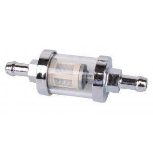 Filtr paliwowy R-TECH chromowy 8 mm