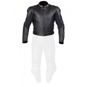 Skórzana kurtka motocyklowa Tschul 770 czarna