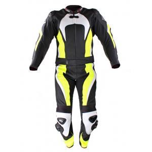 Kombinezon motocyklowy Tschul 575 czarno-żółty fluo