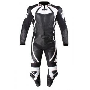Kombinezon motocyklowy Tschul 770 czarno-biały