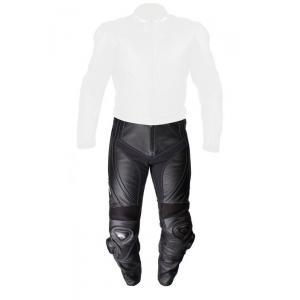 Skórzane spodnie motocyklowe Tschul 770 czarne