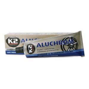 Pasta do czyszczenia i polerowania metalowych powierzchni K2 ALUCHROM 120g