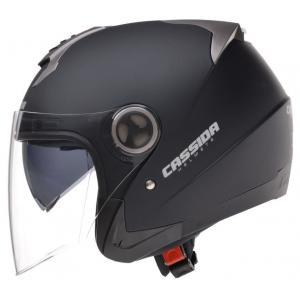 Otwarty kask motocyklowy Cassida Magnum – czarny matowy