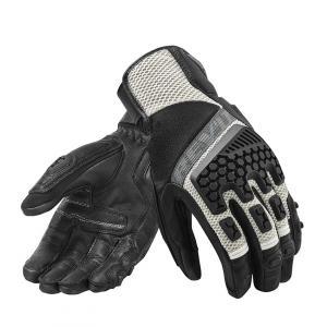 Rękawice motocyklowe Revit Sand 3 czarno-srebrne wyprzedaż
