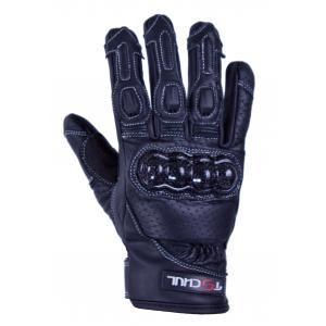Rękawice motocyklowe Tschul 316 czarne