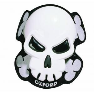 Slidery Oxford Skull białe wyprzedaż