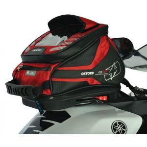 Tankbag na motocykl Oxford Q4R QR - czerwony