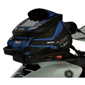 Tankbag na motocykl Oxford Q4R QR - niebieski