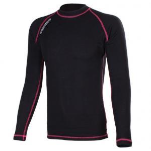 Termo koszulka RSA Heat czarno-różowa długi rękaw
