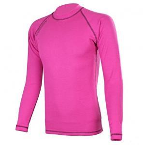 Termo koszulka RSA Heat różowo-czarna długi rękaw
