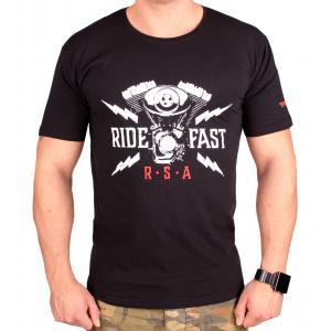 Koszulka RSA Ride Fast czarna