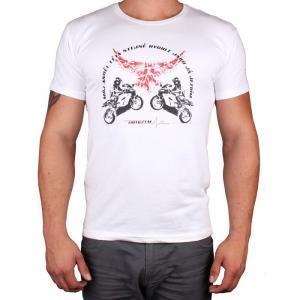 Koszulka z motywem Motozem Angel biała