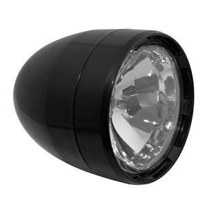 Uniwersalna lampa przednia ze światłem postojowym Shin-Yo czarna