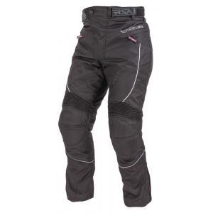 Spodnie motocyklowe RSA Devil czarne - skrócone