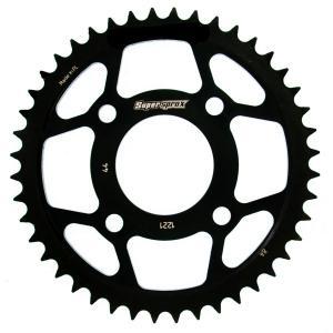 Rear sprocket SUPERSPROX RFE-1221:44-BLK black 44T, 428
