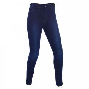 Damskie legginsy Oxford Jeggings niebieskie przedłużone wyprzedaż