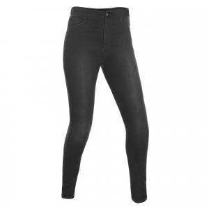 Damskie legginsy Oxford Jeggings czarne skrócone
