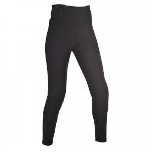 Damskie legginsy Oxford Super Leggings czarne skrócone