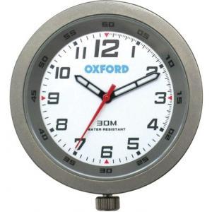 Analogové hodiny Oxford titanové