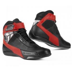 Buty motocyklowe Eleveit Stunt WP czarno-czerwone