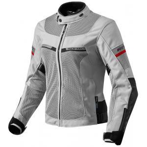 Damska kurtka motocyklowa Revit Tornado 2 srebrno-czarna wyprzedaż