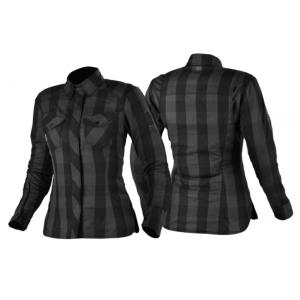 Damska koszula motocyklowa Shima Renegade szaro-czarna wyprzedaż